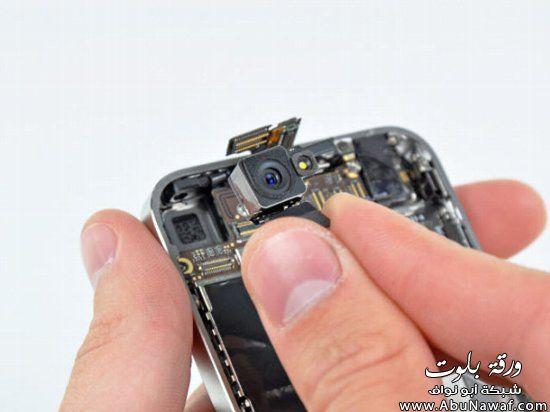 تعلم طريقة تفكيك iphone 4خطوة
