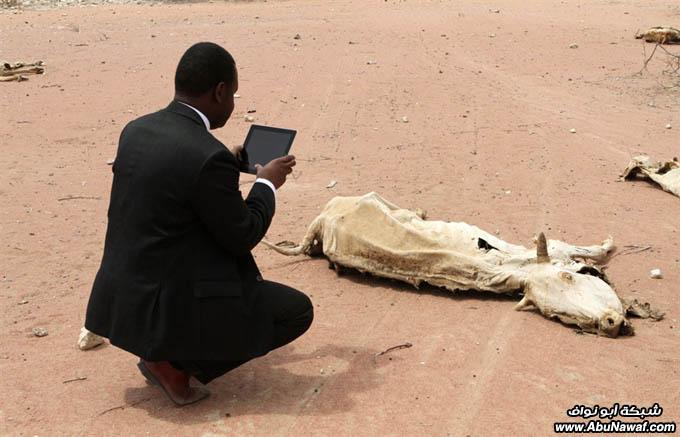 صور حول العالم : ضحايا انفجار اوسلو + آثار المجاعة في الصومال .. والمزيد