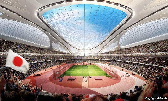 ملعب طوكيو ملعب طوكيو تصميم