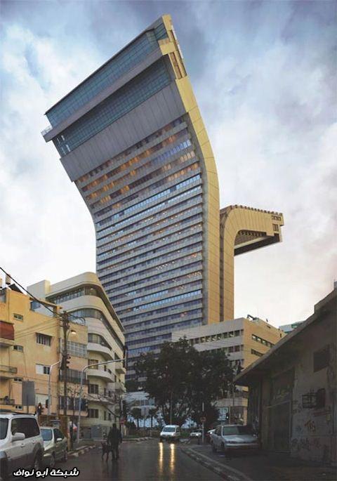 مبنى عجيب
