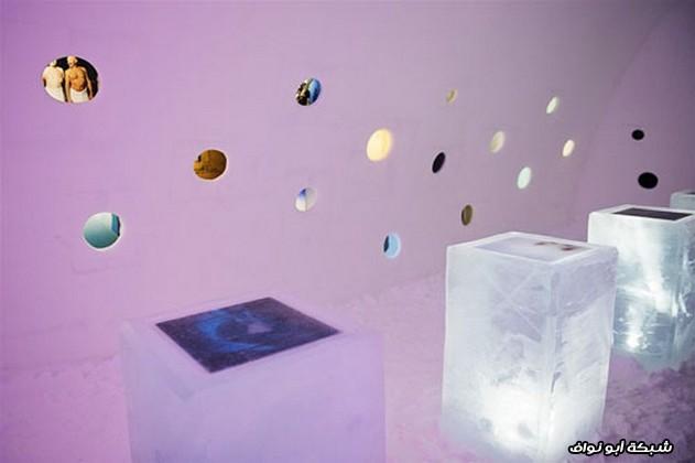 معرض الفن الجليدي