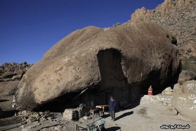 بيت الصخور