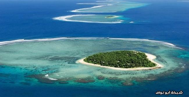 جزيرة على شكل قلب
