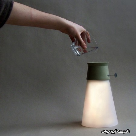 مصباح مضيئ