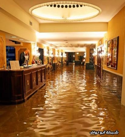 غرق المكاتب في فينيسا