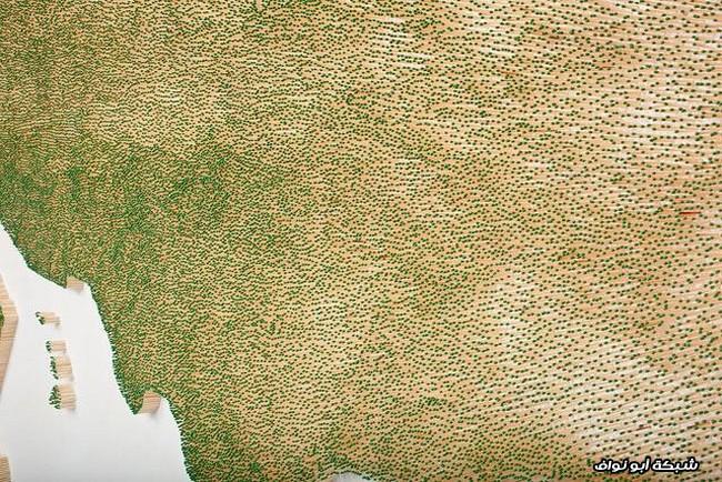 خريطة دقيقة