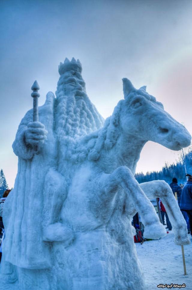 تماثيل ثلجية 2013 1362945497_snezhnoe-