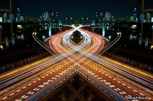 لمحة من طرق اليابان