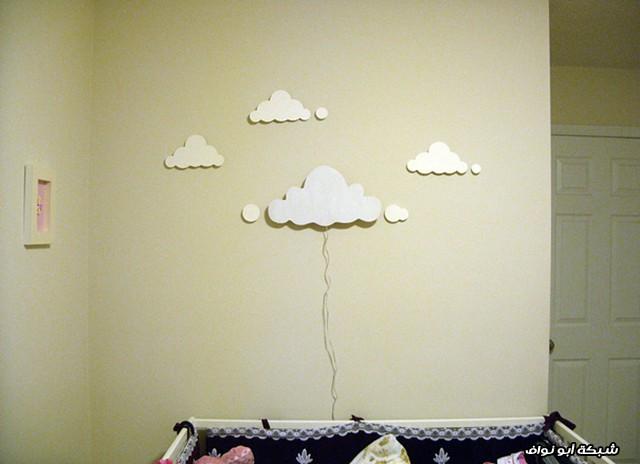 مصباح على شكل الغيوم