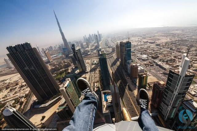 دبي من الأعلى