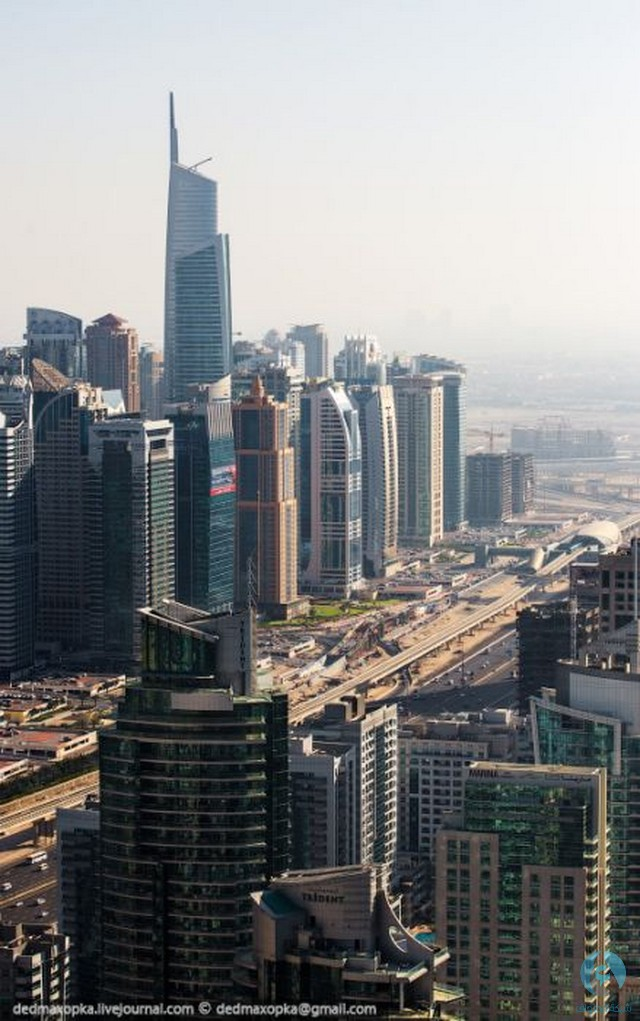 صور جوية لإمارة دبي