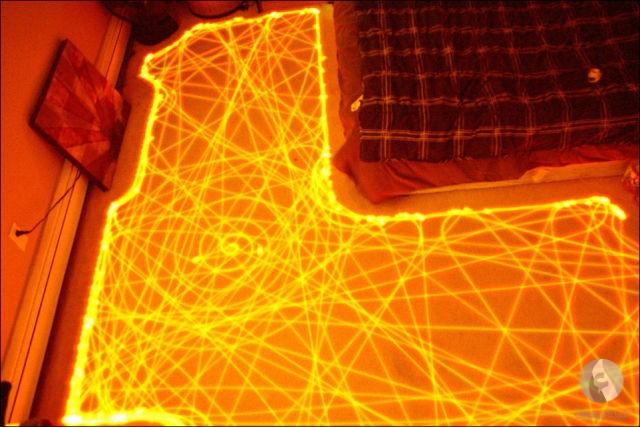 مسار مكنسة كهربائية