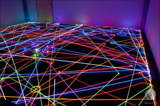 خطوط ضوئية