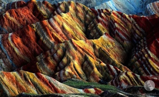 جبال في الصين