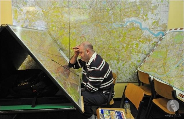 الخريطة الورقية