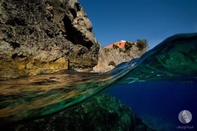 تصوير في البحر
