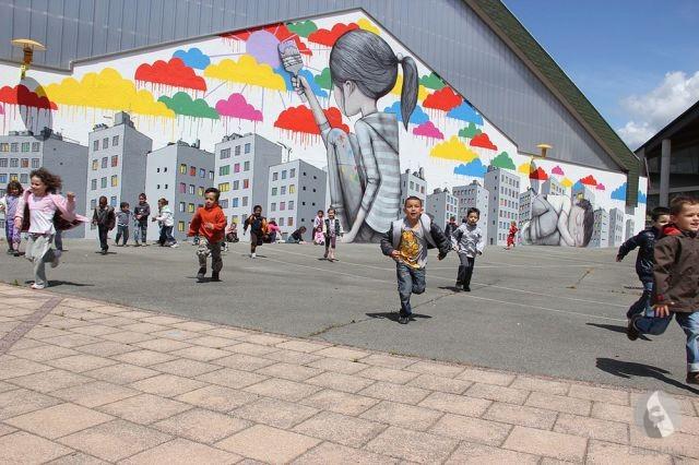 رسومات جدارية