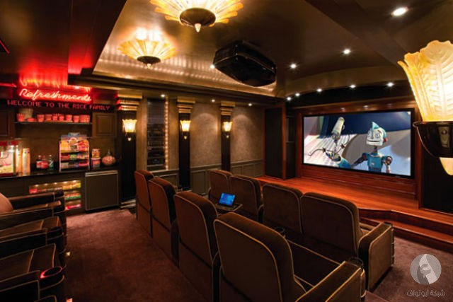 المسرح المنزلي