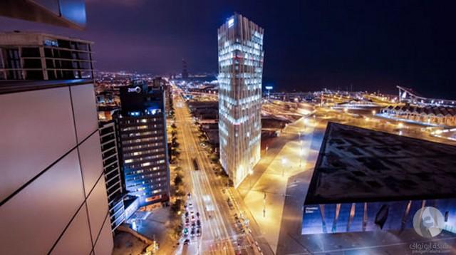 برشلونة ليلا