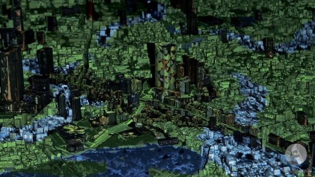 طوكيو ثلاثية الأبعاد