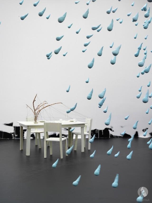 قطرات المطر العملاقة