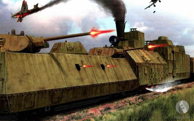 قطارات حربية
