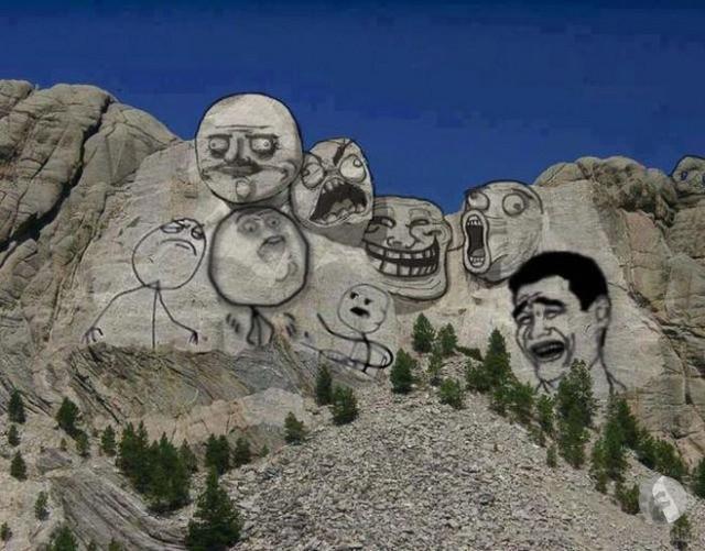 الرسم على الصخور