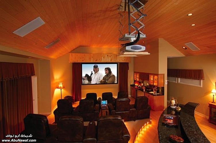 صالات السينما المنازل خيال